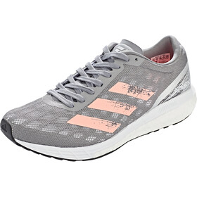 adidas Adizero Boston 9 Chaussures Femme, grey three/silver metal